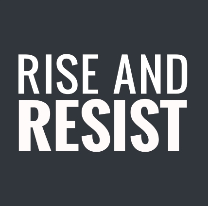 rise and resist (logo)